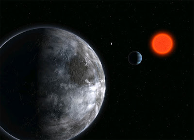 超級地球 - 超級地球 gliese 581c