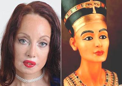 整形51次 - 整形51次 要整成古埃及最美王后