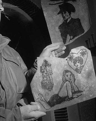 人皮燈罩 - 納粹人皮燈罩