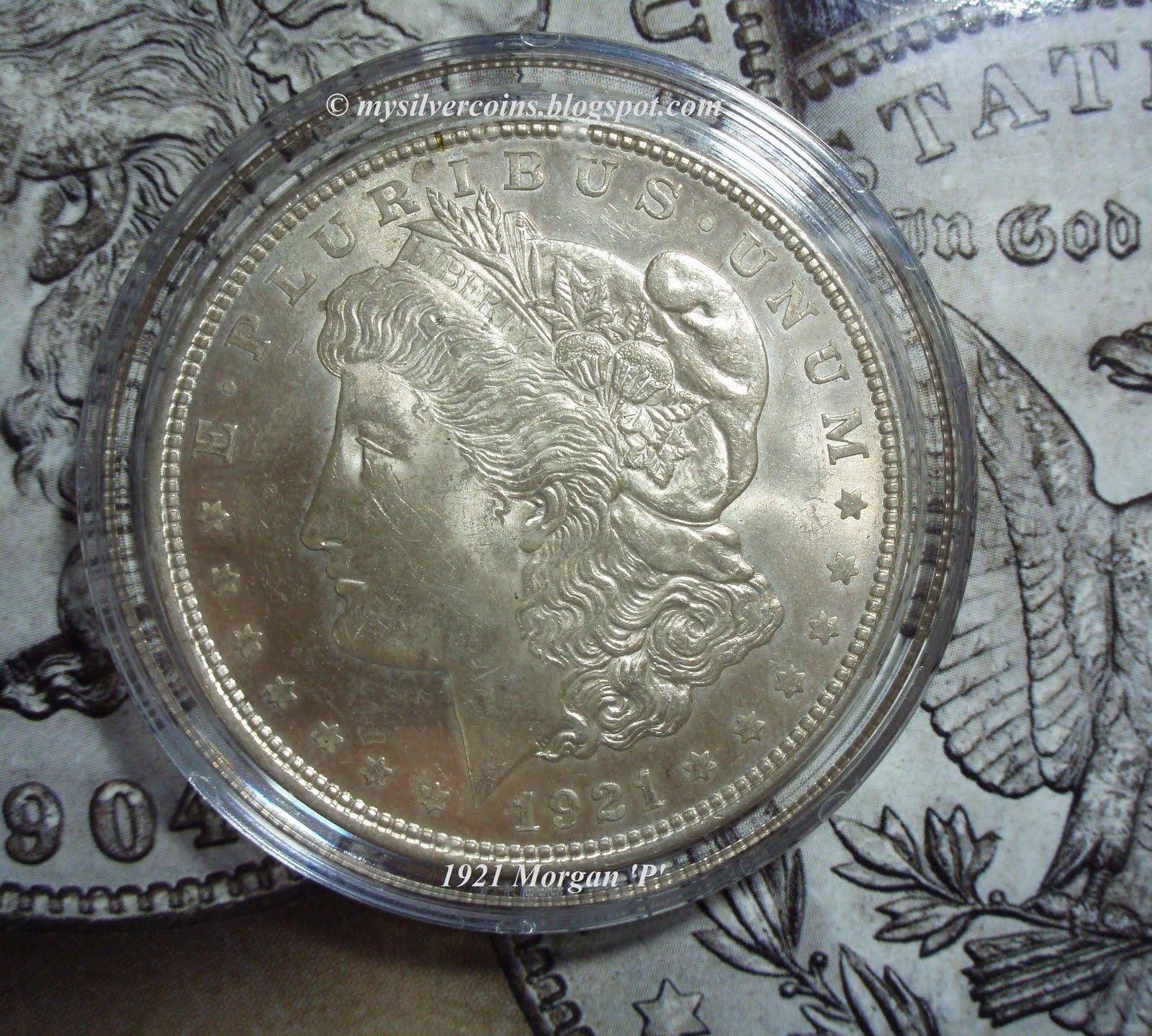 Silver Coins Collection 1921 P D S Morgan Silver Dollar Set