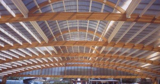 Muebles domoticos potencial de la madera laminada en colombia - Estructura de madera laminada ...