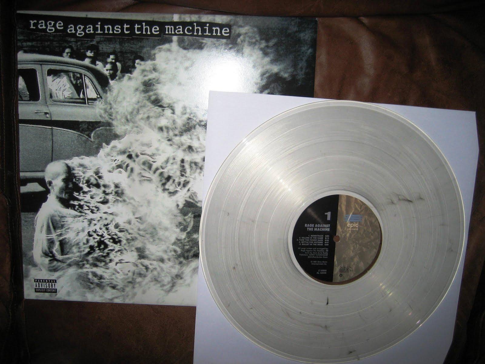 rage against the machine on vinyl