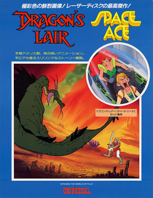 Dragon's Lair + Space Ace Flyer