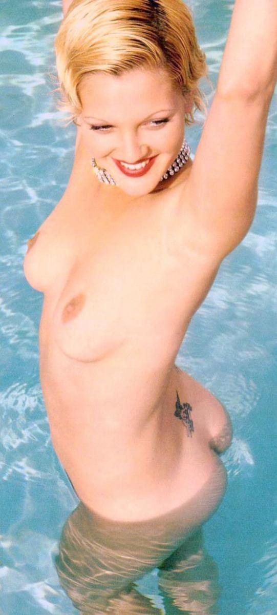 Drew barrymore naked