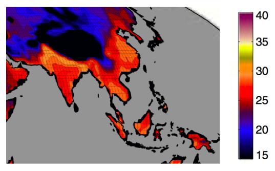 Forex early warning heat map