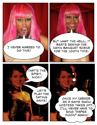 Nicki Minaj and Elsie Price Sleep No More Crossover Fan Fiction Blog Crossover with The Dating Game