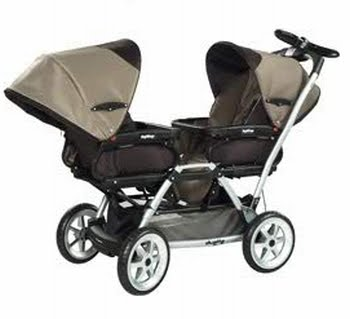 strollers beyond duette sw peg perego now available in. Black Bedroom Furniture Sets. Home Design Ideas