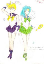 Uranus y Neptune