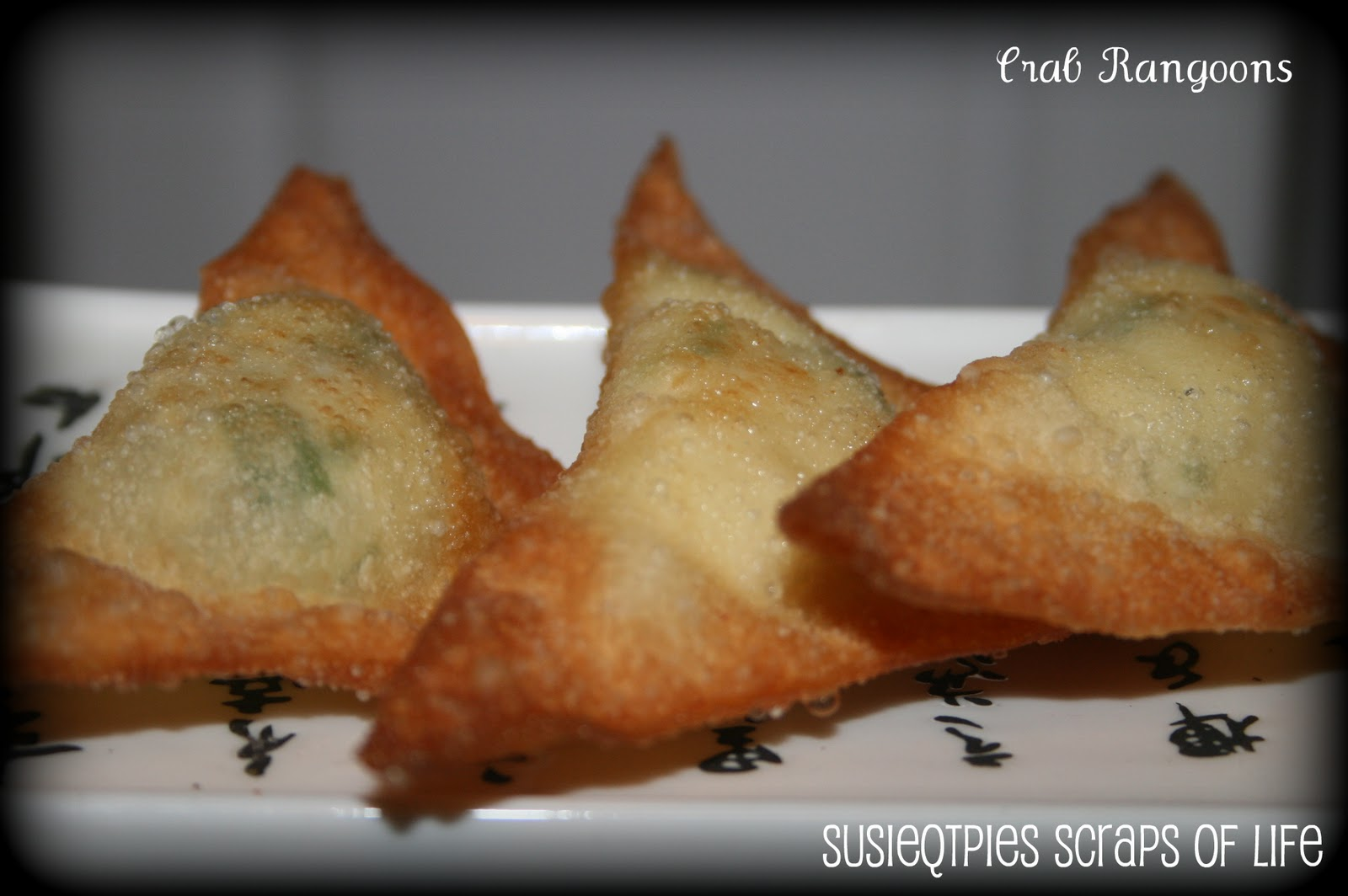 SusieQTpies Cafe: Quick and Easy Crab Rangoon Recipe