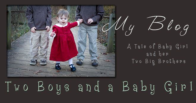 Two Boys and a Baby Girl