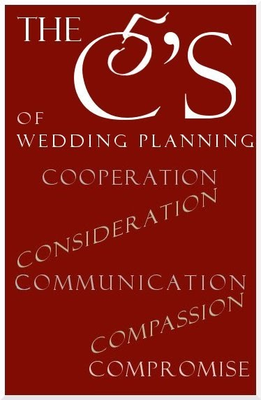 Wedding Etiquette by Luxurious Wedding .com: Gracious Brides Practice The 5 C's of Wedding Planning