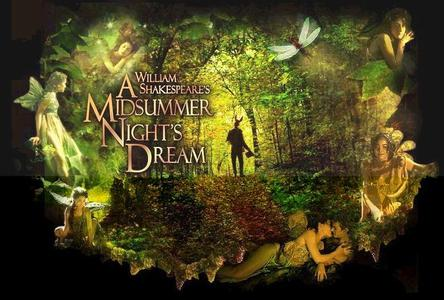 wordplay in the play a midsummer nights dream by william shakespeare In a midsummer nights dream by william shakespeare, love and magic play a part in causing interesting and confounding problems for the characters magic causes.