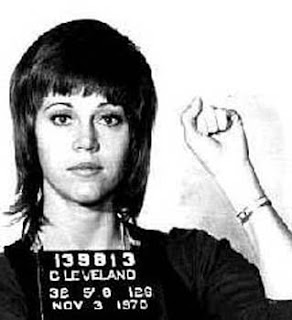 Jane Fonda arrested !