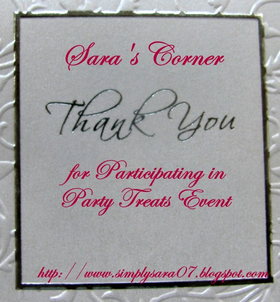 Do accept this Thank you card for participating in the event