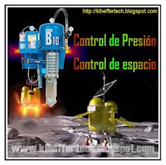 Programación y control de presión. Filtro y lubricación de aire comprimido.