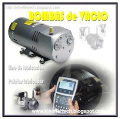 Bombas de vacío de paletas lubricadas / libre de lubricación.