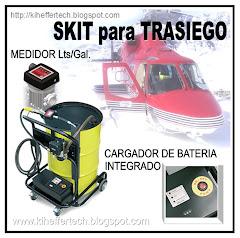 SKIT para trasiego. 12 / 24 V. DC. Cargador de batería integrado