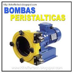 Bombas peristalticas.