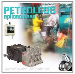 Aplicaciones petroleras. Sistemas & bombas de alta presión.