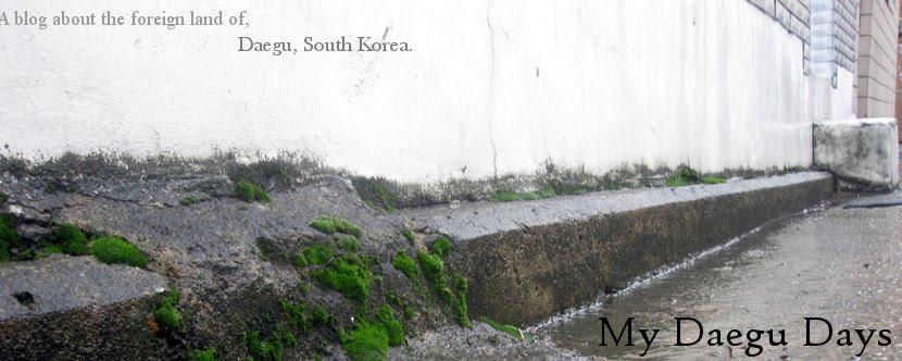 My Daegu Days