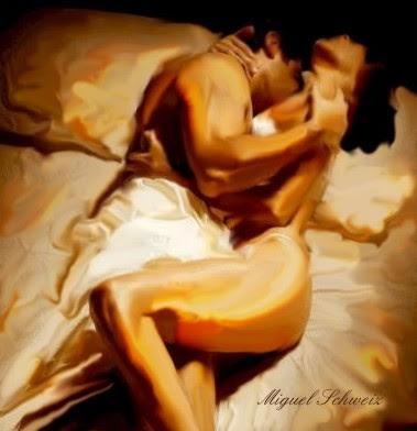 Pintura-Sensualidad en la intimidad