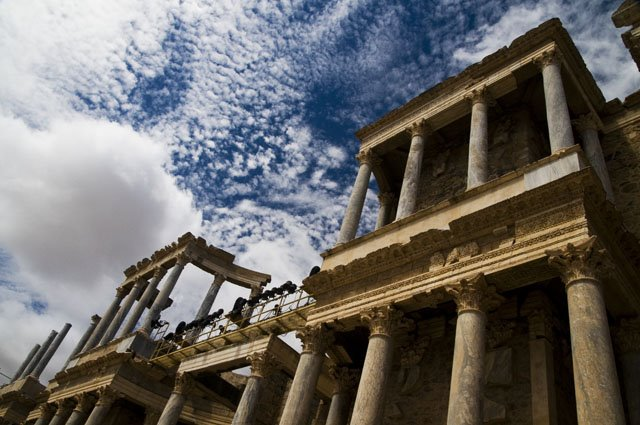 Teatro Romano - Mérida, Espanha