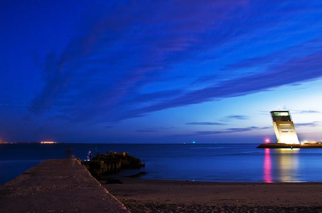Crepúsculo azul - Docapesca, Lisboa