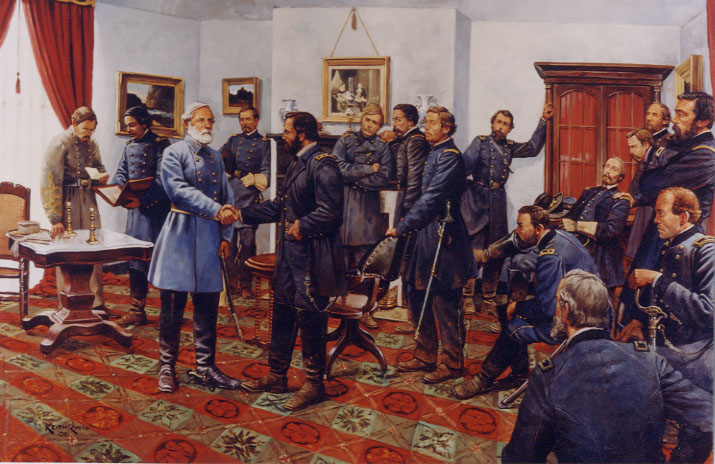 APRIL 9 = Lee Surrenders to Grant at Appomattox | Today In History