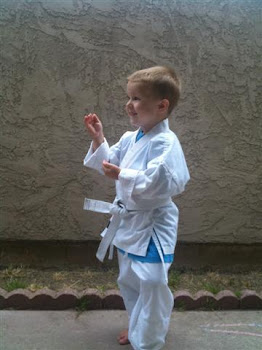 Tristan the Karate Kid