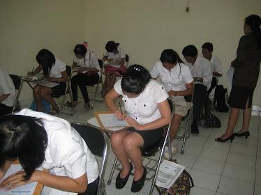 UNPK Pendidikan Kesetaraan Paket A Periode I dilaksanakan Tgl. 29 Juni 2010 s.d. 1 Juli 2010