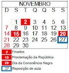 Calendário Institucional