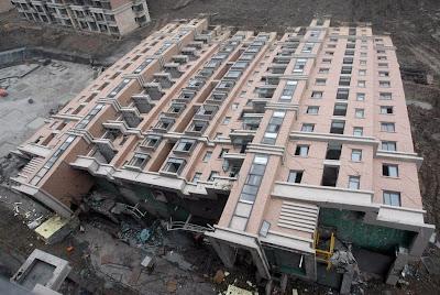 kínai, lakótelep, blog, építkezés, China, Kína, baleset, vicces, funny