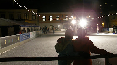 jégpálya, Óbuda, korcsolyapálya, főtér, Budapest
