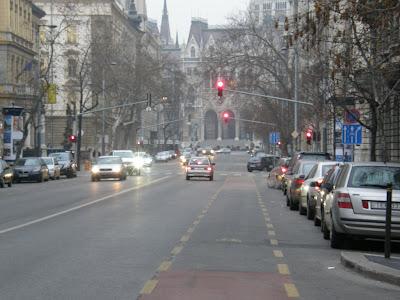 biciklisáv, kerékpársáv, Bajcsy-Zsilinszky út, V. kerület, Belváros, Budapes