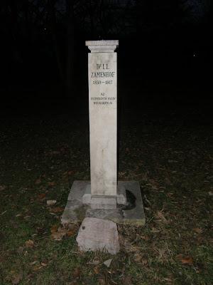 Budapest, denkmal, Eliezer Samenhof, esperanto, eszperantó, Fürdő, Ludwig Lazarus Zamenhof, nyelv, statue, szobor, Tabán, Zamenhof