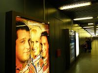 haltestelle, Határ út, kék metró, Metropol, metró metróállomás, metrómegálló, station, subway, U-bahn, újság