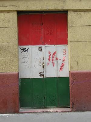 Gyurcsány Ferenc, Magyar utca, stencil, V. kerület, belváros, street art, büdöskomcsi