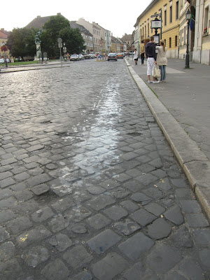 BKV,  környezetszennyezés, 16-os busz, kipufogógáz, olajfolt, szivárgás, I. kerület, Várnegyed, Vár, Budapest, Dísz tér, BKV, közlekedés, veszély