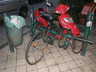 Hungary, bicikli, bike, Budapest, Ferencváros, IX. kerület, kerékpár, lopás, Ráday utca, bringa, Magyarország, thief, tolvajlás