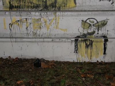 street art, Budapest, Magyarország, Hungary, Óbuda, III. kerület, graffiti,  tehetség, I am Evil