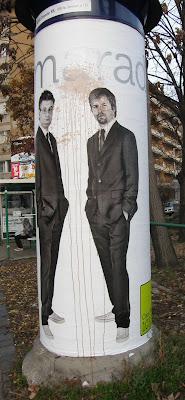 hirdetőoszlopok, Jáksó László, reklám, Sebestyén Balazs, street art, utcakép, Class FM, Danubius Rádió, Danubiusz, Klassz Fm, zene, plakát, óriásplakát