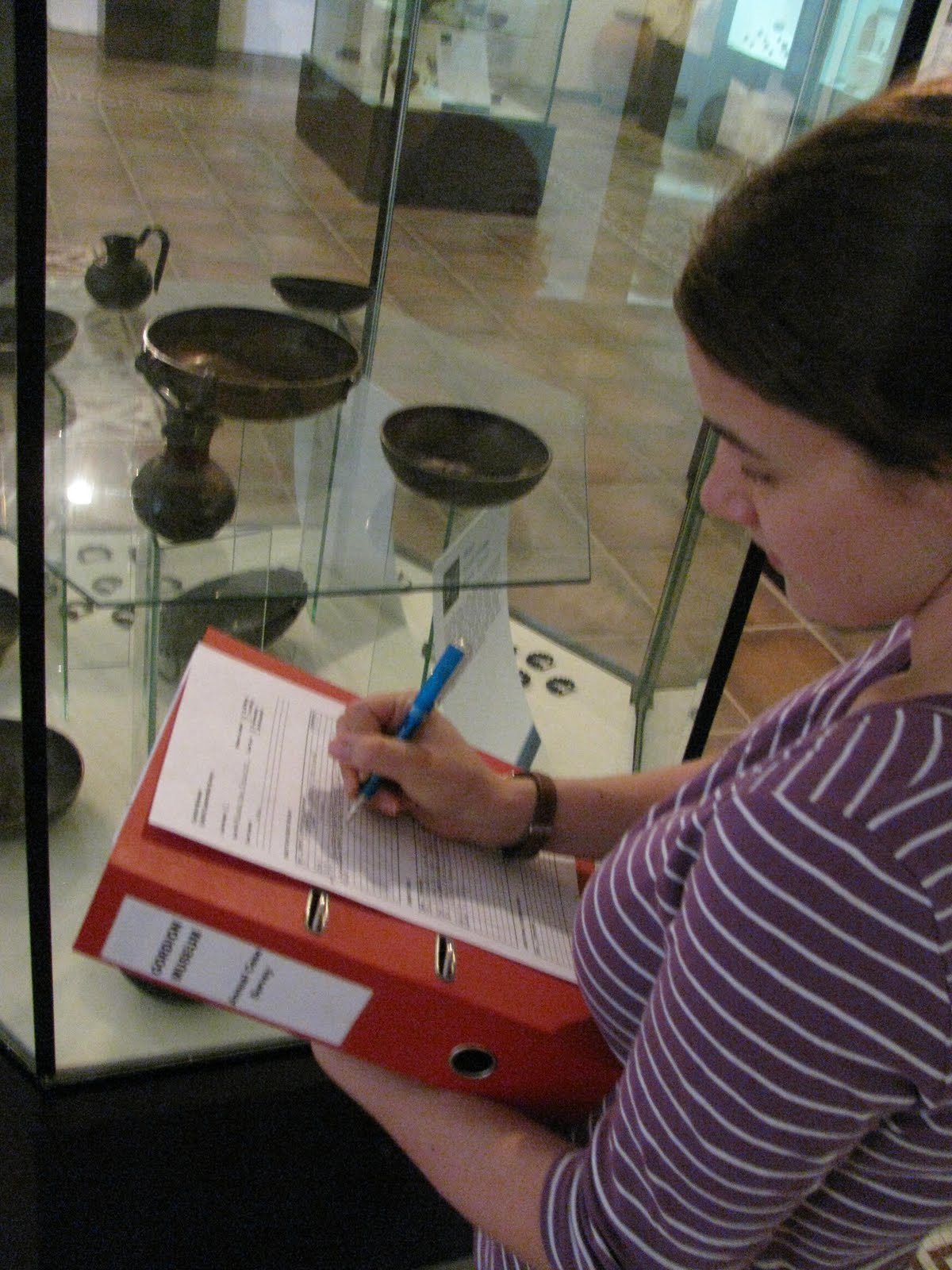 Gordion Objects Conservation: Condition Survey at the ...