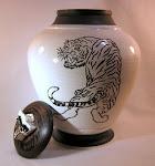 Tiger Urn