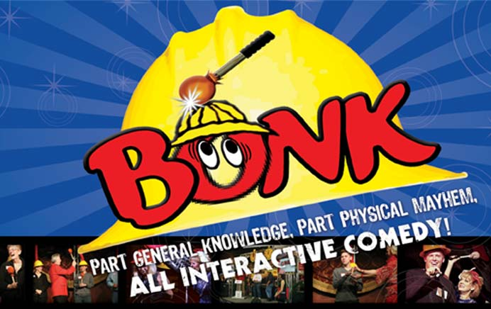 The Bonk Show, Bonk Game Show and Corporate Game Show official news & events page
