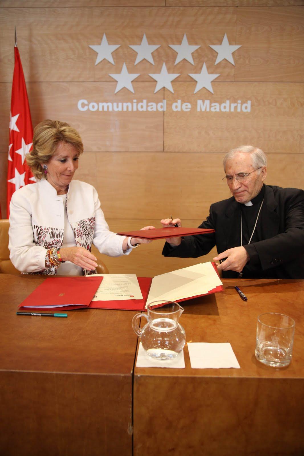 Jornada mundial de la juventud 2011 aguirre y rouco for Convenio oficinas y despachos comunidad de madrid