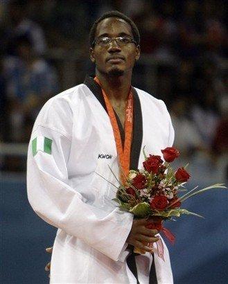 Yagazie, bronze medalist, Beijing 2008 Olympics