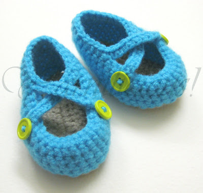 Free Baby Bootie Patterns - How to Crochet Baby Booties