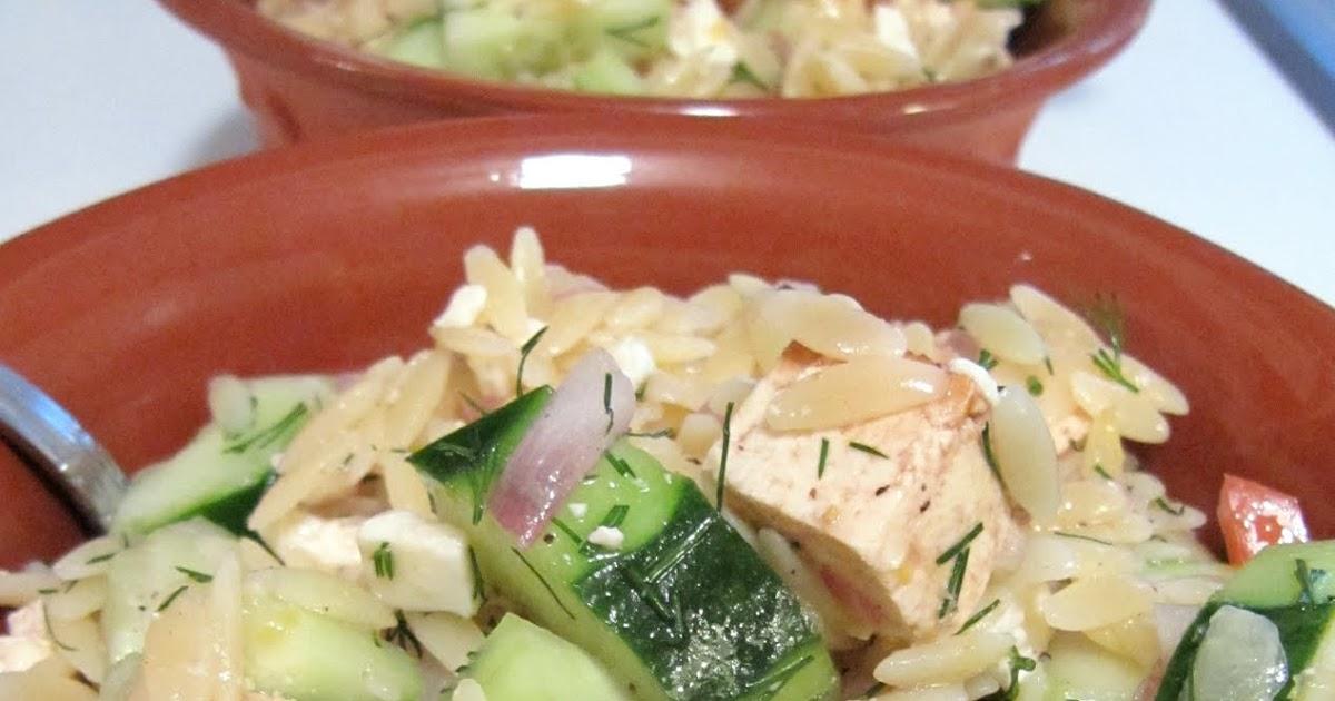 Grad Gastronomy: Tofu Orzo Salad