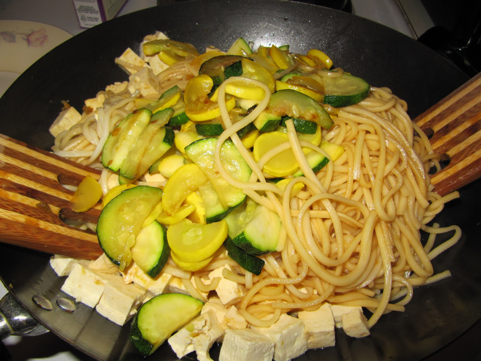 ... Gastronomy: Noodles with Sauteed Veggies and Lemon Ginger Dressing