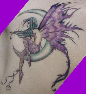 Variations of Fairy Tattoo Designs-5